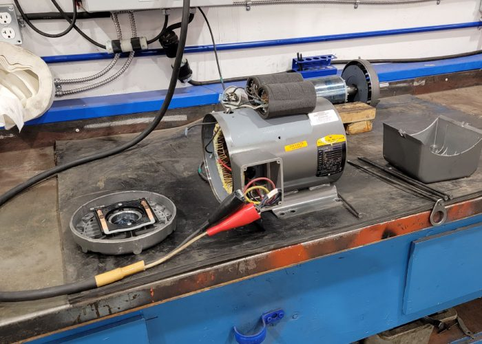 Motor Work Station Small 05