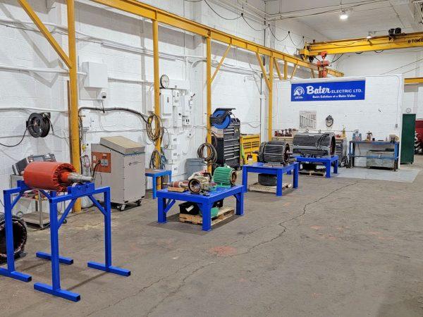 Motor Work Stations 20